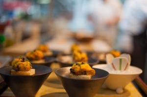 Uni & Foie Gras Toast (Catering)